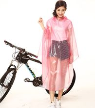 Big cap visor Fashion raincoat cap Bicycle electric battery car poncho transparent student outdoor biking poncho Female(China (Mainland))