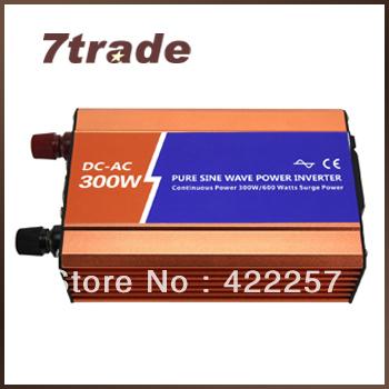 300W pure sine wave inverter off grid 48vdc to 110vac B48P300-1