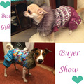 High Quality Autumn Winter Pet Dog Clothes Clothing Jacket Coat Purple Red for Small Pet Dog