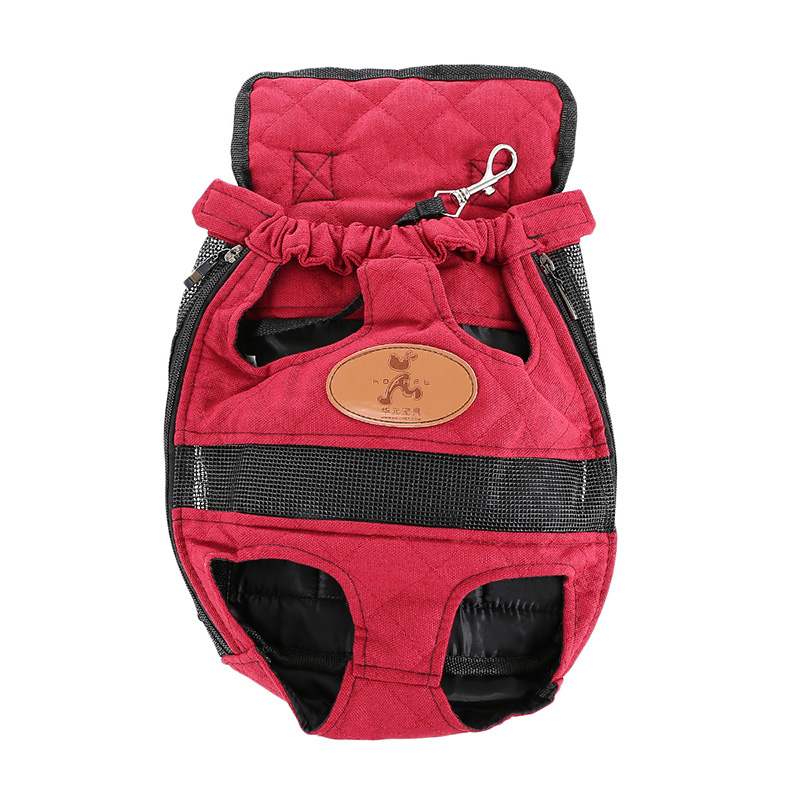 Pet Carrier Dog Backpack Bag Portable Travel Bag Pet Dog Front Bag Mesh Backpack Head Out Double Shoulder Outdoor P90(China (Mainland))