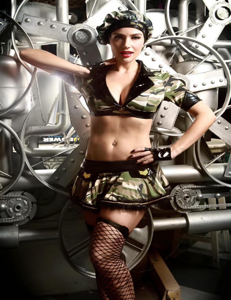 Сексуальные военные женщины 6 фотография