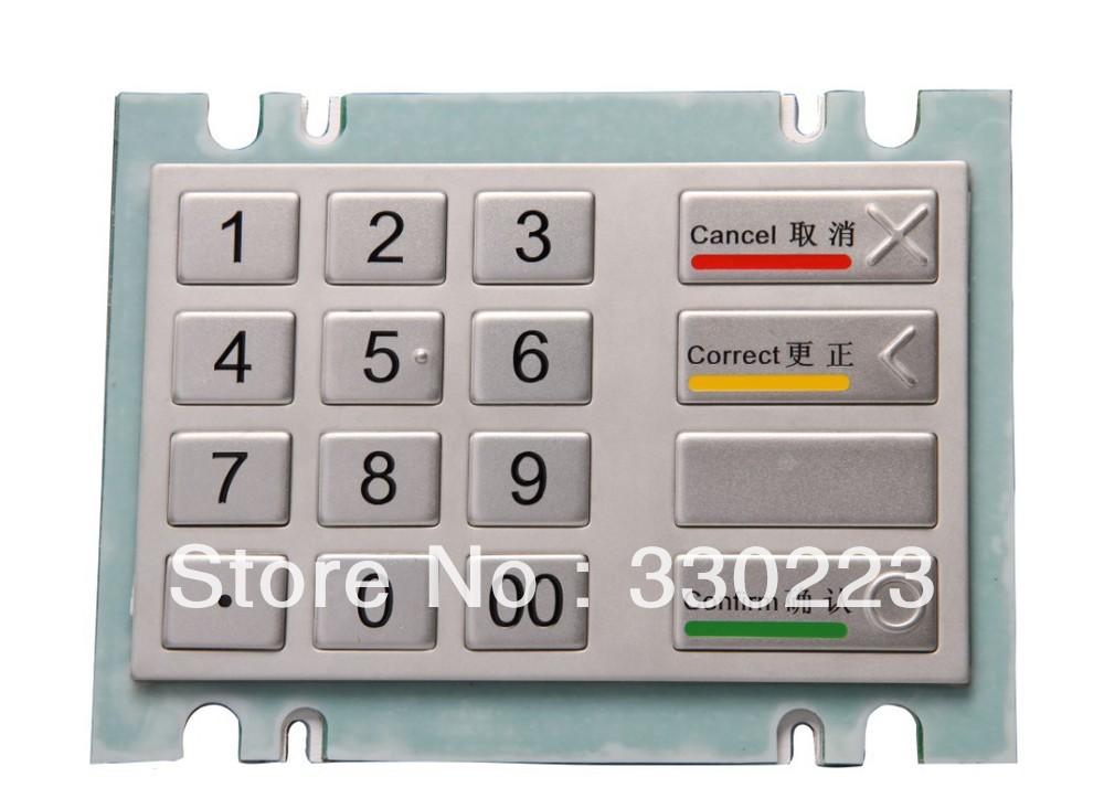 MiNi Metal Numeric Keyboard Bank password keyboard medical keyboard(China (Mainland))