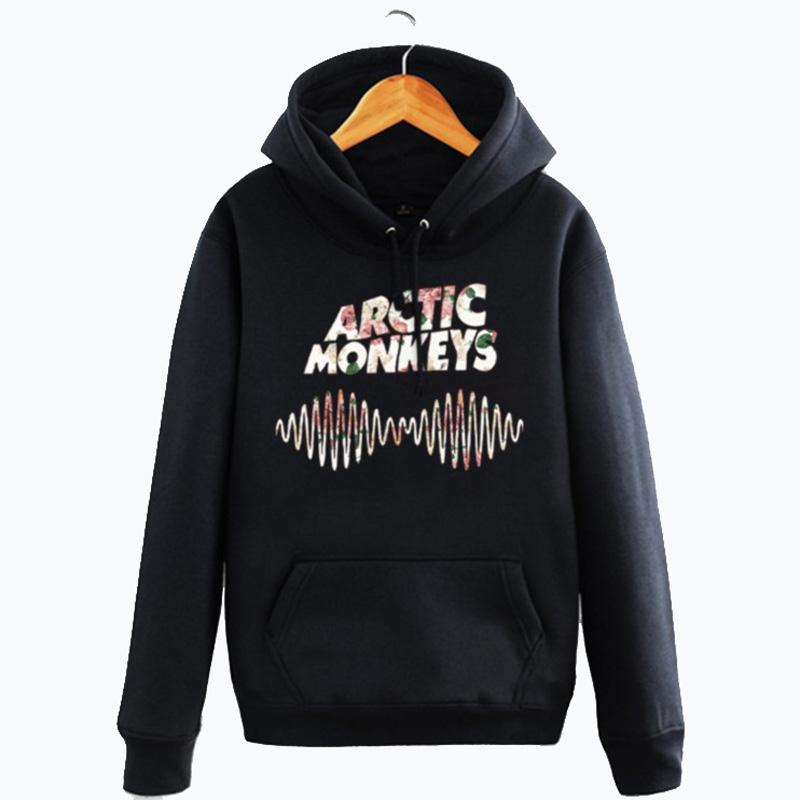 Arctic Monkeys Mens Winter Cotton Hoodie England Rock band Hooded Pullover Jackets Womens Fashion Style Harajuku Sweatshirts 2XL(China (Mainland))