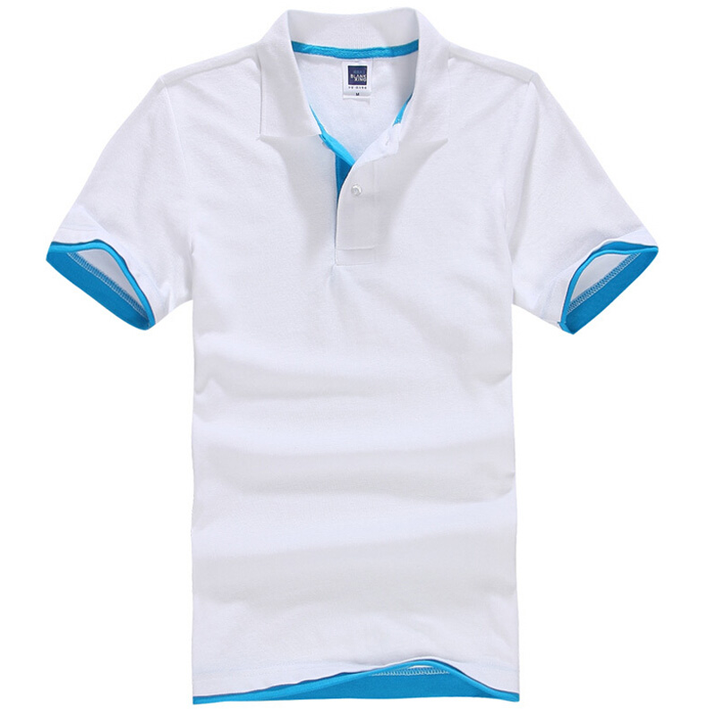 Brand New Men's Polo Shirt Men Cotton Short Sleeve shirt sports jerseys golf tennis Plus Size XS - 3XL camisa Polos homme(China (Mainland))