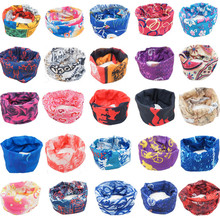 Outdoor Sport Bike Bicycle Cycling Riding Magic Headband Sports Turbans Cycle Neck Tube Warmer Scarf Scarves Headwear Bandanas