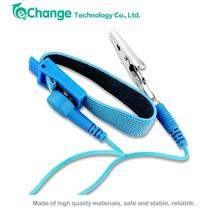 Static-Release Clip Anti Static ESD Wrist Strap Discharge Band Grounding Cordless Wireless Cables EN0190