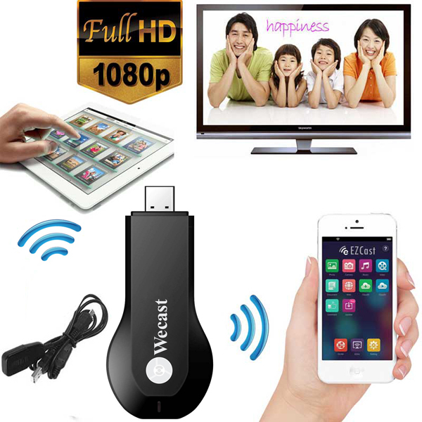 C2 wecast Miracast adapter Dongle mirror cast android mini pc tv stick airplay dlna wireless hdmi as good as chrome cast(China (Mainland))