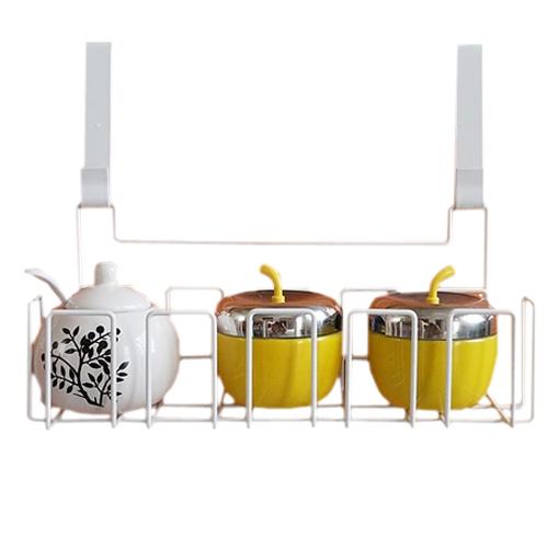 Creative Household over Fridge Cupboard Door Storage Basket Hanging Holder Rack Shelf H0001452(China (Mainland))