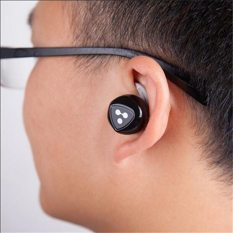 Syllable D900 Mini Wireless Bluetooth Earphone Invisible In Ear Active Noise Cancelling Headphone Hidden Wireless Micro