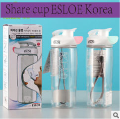 South Korea's new environmental health creativity share transparent cup  -  kauilexiaodian store