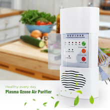 Plasma Ozone Air Purifier Home Office Germicidal Electric Oxygen Concentrator Filter Cleaner Deodorizer White Chinese Plug(China (Mainland))