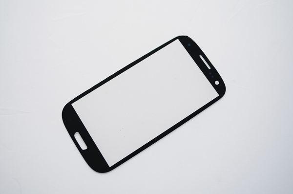 Здесь можно купить  For Samsung Galaxy S3 III i9300 Touch Screen Lens Blue Front Glass Cover Replace High Quality OEM 50 PCS Wholesale  Телефоны и Телекоммуникации