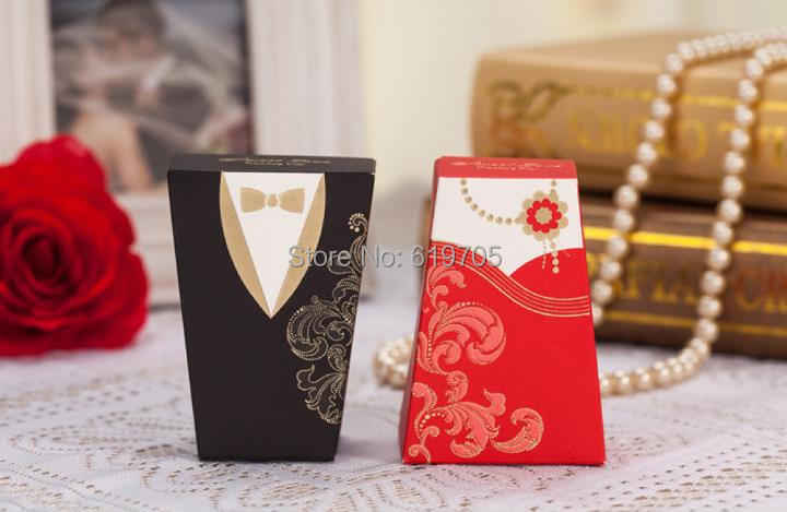 Cheap Wedding Gifts For Bride And Groom : personalized Wedding chinese candy box bride and groom favors gifts ...