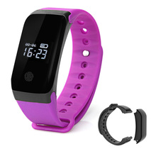 Buy Bluetooth Smart Band Smartband Heart Rate Monitor Wristband Fitness Bracelet Android iOS PK Xiaomi Fitness Tracker for $33.48 in AliExpress store