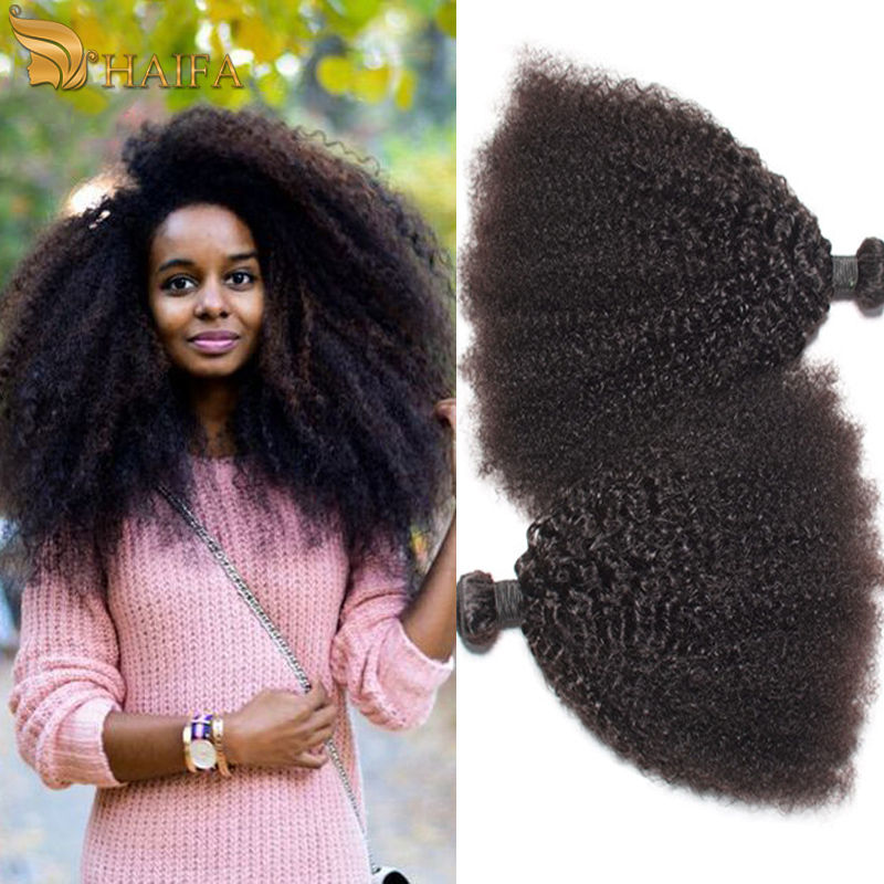 Mongolian Afro Kinky Curly Hair Human Hair Weaves, Rosa Hair Products Kinky Curly Virgin Hair Bundles 3PCS Very Soft 7A Quality