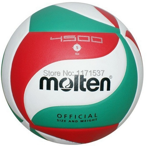 Hot Sale A+++ Best Quality 2014 Brand New Official Size 5 PU Volleyball Soft Touch V5M4500 Match Volleyball Free shipping(China (Mainland))
