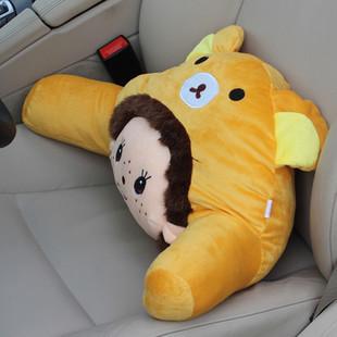 Chino auto supplies MONCHHICHI cartoon car Waist pillow cushion lumbar pillow/headrest /throw pillow/thermal decorated supplies