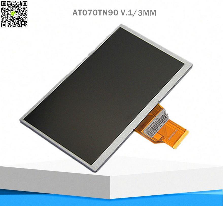 Original 7inch 50pin needle pin 20000938-30 at070tn90 v.1 v.x lcd screen display screen 164X100X3mm Free shipping