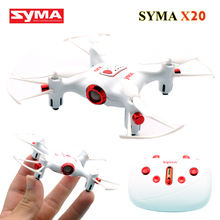 Buy Syma X20 Pocket Mini Drone 2.4G 6 Axis 4CH Quadrocopter Eachine Quadcopter Rc Helicopter Helicoptero de controle remoto Toys for $26.90 in AliExpress store