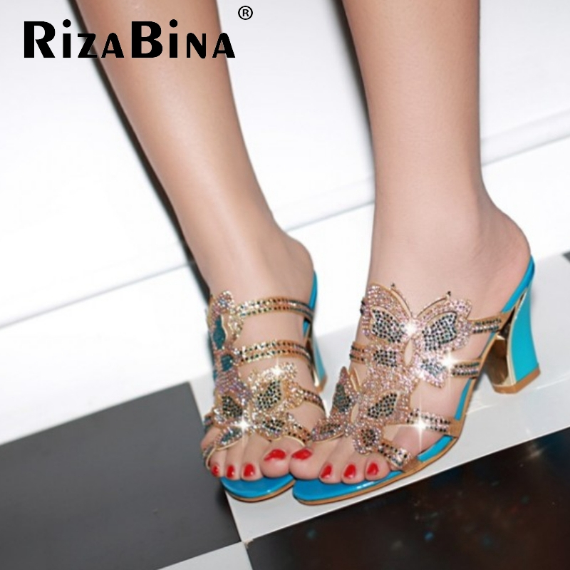 CooLcept free shipping thick high heel sandals women sexy fashion lady buckle shoes P13277 hot sale EUR size 32-43<br><br>Aliexpress