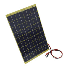 10 Watts 12 Volts Epoxy Solar Panel Module 12V Battery Charger Camping(China (Mainland))