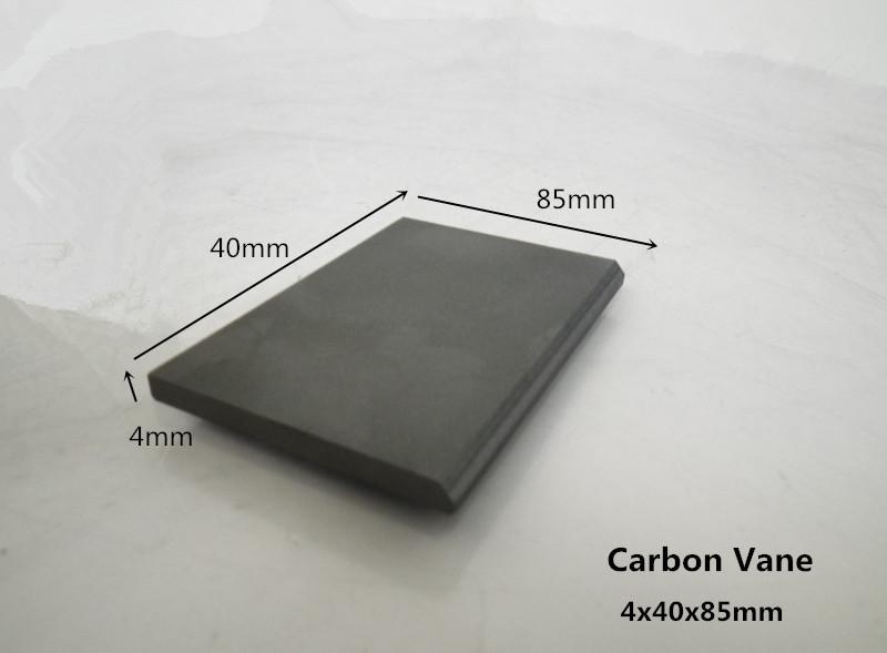 4x40x85mm carbon vanes 10pcs for  Chemical pumps  / graphite block/ carbon pusher<br><br>Aliexpress