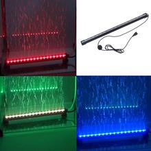 Brand New LED RGB LED aquarium lumière sous - marine lampe pour piscine piscina poissons des récifs coralliens EU UK US ua Pulg(China (Mainland))