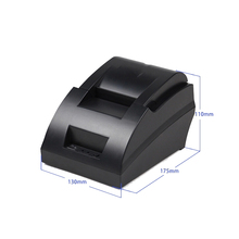 New pos printer 58mm thermal receipt printer support multi language, windows10 with hight speed impresora for pos system(China (Mainland))