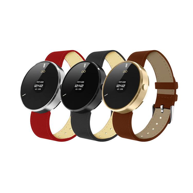 2015 ido one like moto 360 Best Smart Watch phone OLED Bluetooth4.0 Activity And Health Fitness Tracker(China (Mainland))