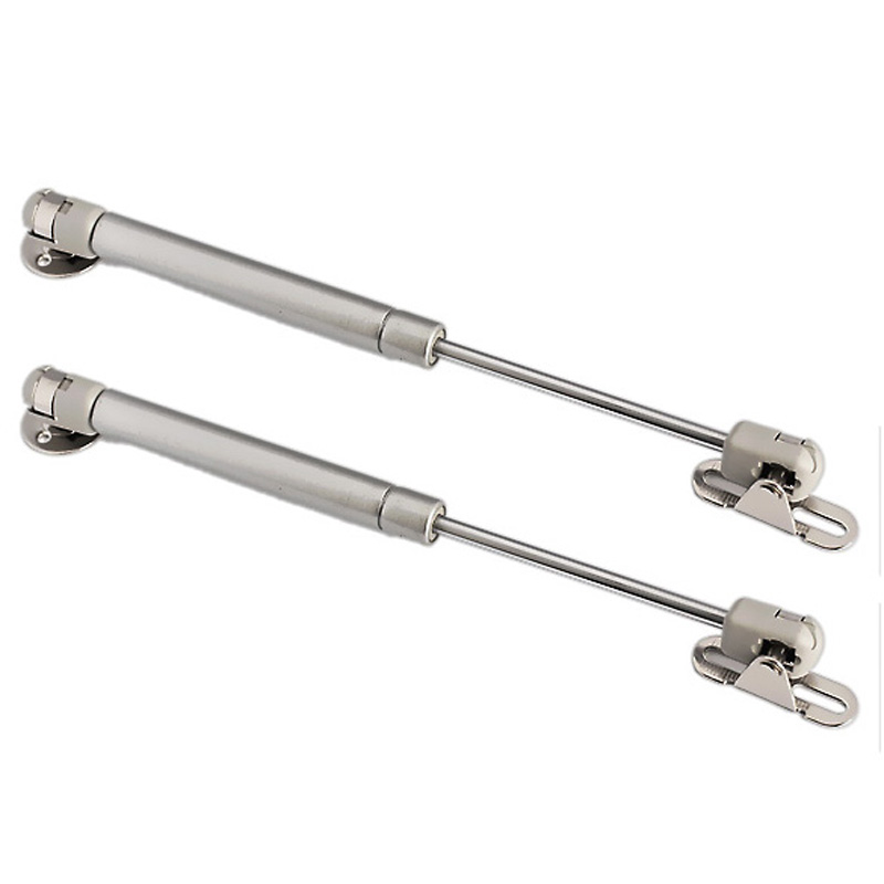 100N /10kg Force Door Lift Support Furniture Gas Spring Cabinet Door Kitchen Cupboard Hinges Lid Stays Soft Open/Close E#CH(China (Mainland))