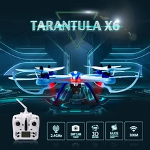 JJRC YIZHAN Tarantula X6 RC Quadcopter Drones with HD Camera 4CH  RC Helicopter RTF 2.4GHz 5MP 1080P FHD Optional VS X600 X400(China (Mainland))