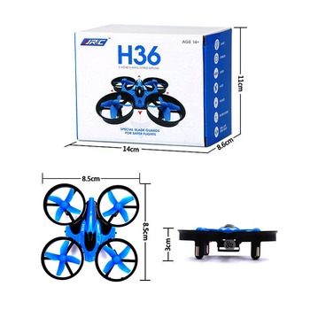 Newest jjrc h36 PK h20 x1 h8c Mini Drone 6 Axis RC Micro Quadcopter With Headless Mode One Key Return Vs H8 Toys Kid rc airplane