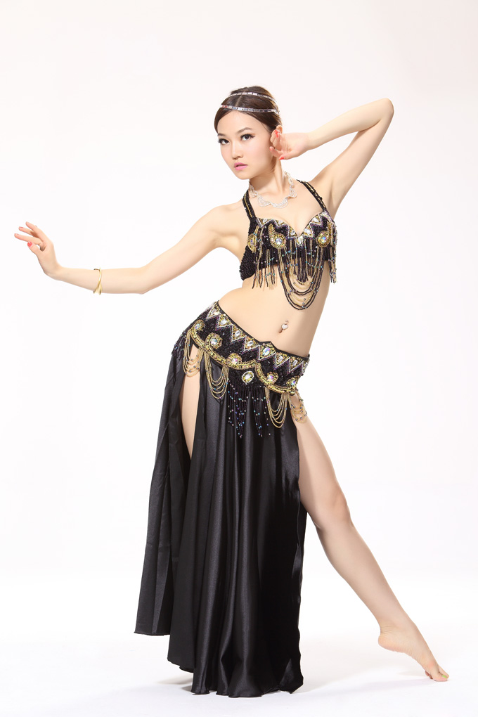 2016 New Belly Dance Costume Tribal belly Outfit for Women Belt Clothing sets Dance Costume Bra+Skirt+waistband 3pcs B-2511Одежда и ак�е��уары<br><br><br>Aliexpress