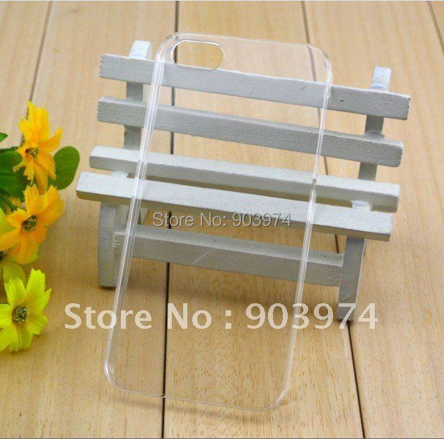 Free Shipping by DHL/EMS! 100pcs/lot Crystal Case for apple iphone 5,transparent Case For new iphone 5 wholesale