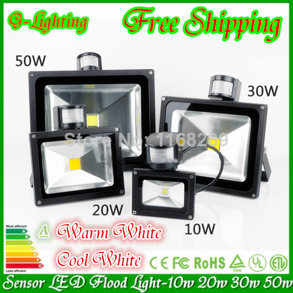 Parking Garage Sensor Lights: Free Shipping L Pc/lot Motion Sensor Led Flood Light