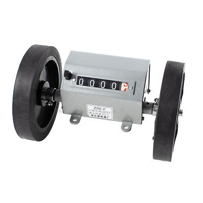 0-9999.9M Mechanical Length Counter Meter Rolling Wheel Z96-F(China (Mainland))