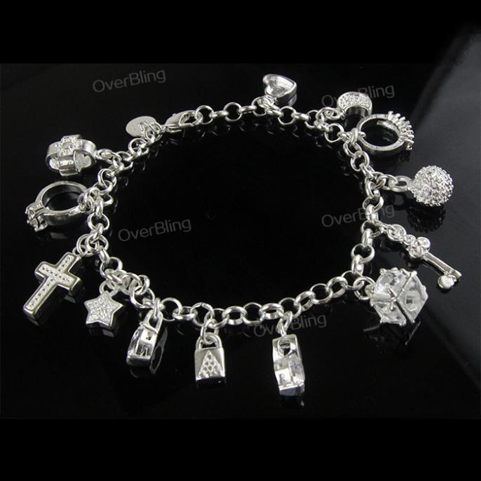 2015 Hot Sale 925 Sliver Plated Bracelet 13 String Bracelets For Women Europe and the United States Sell Like Hot Cakes Bracelet(China (Mainland))