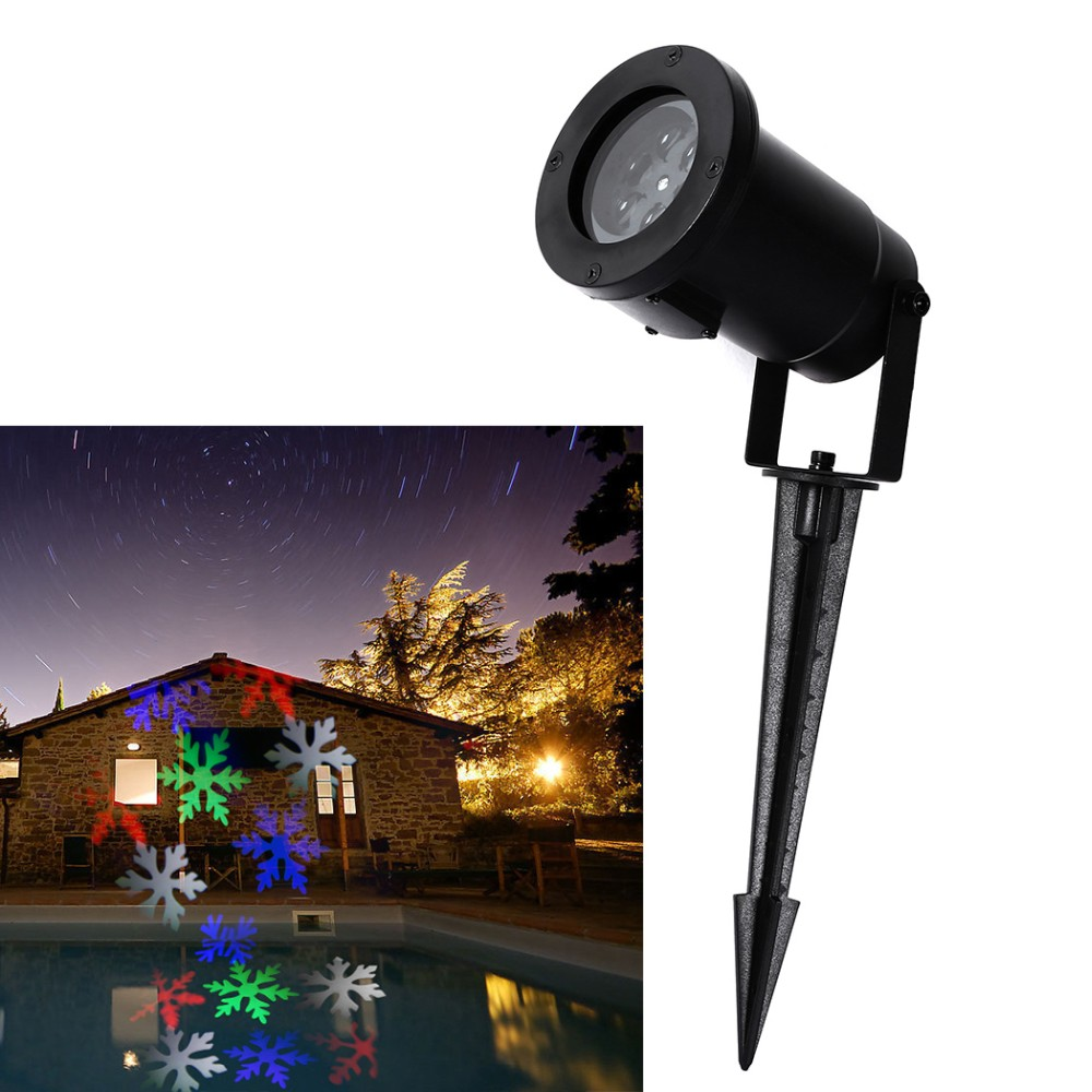 Wall Decoration Laser Lights : Pc led christmas garden laser projector wall