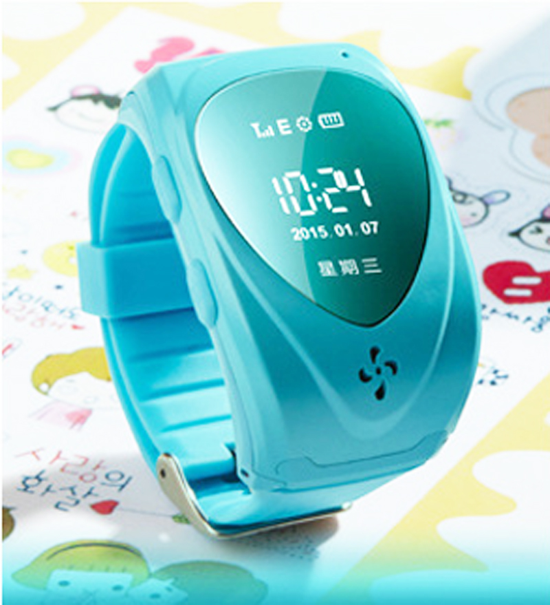 Heart Shape Screen GPS Tracker SOS Alarm Kids Smart Watch Anti Lost Smart Wrist GPS Watch For Children For iPhone Android(China (Mainland))