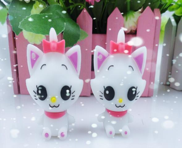 100% real capacity Cartoon cat lovely model USB Flash Memory Pen Drive Stick 2GB 4GB 8GB 16GB pendriveping S104 AA(China (Mainland))