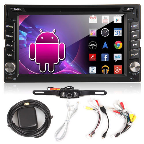 Android4.2 Double 2 Din InDash Car DVD Radio Player 6.2''HD Touchscreen Car Stereo CD VCD Player WiFi 3G GPS NAV IPOD RDS Camera(China (Mainland))