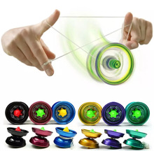 Arpa Alliage Cool Design En Aluminium Haute Vitesse Professionnel YoYo Roulement À Billes Cordes Trick Yo-Yo Enfants Magie Jonglerie Jouet(China (Mainland))