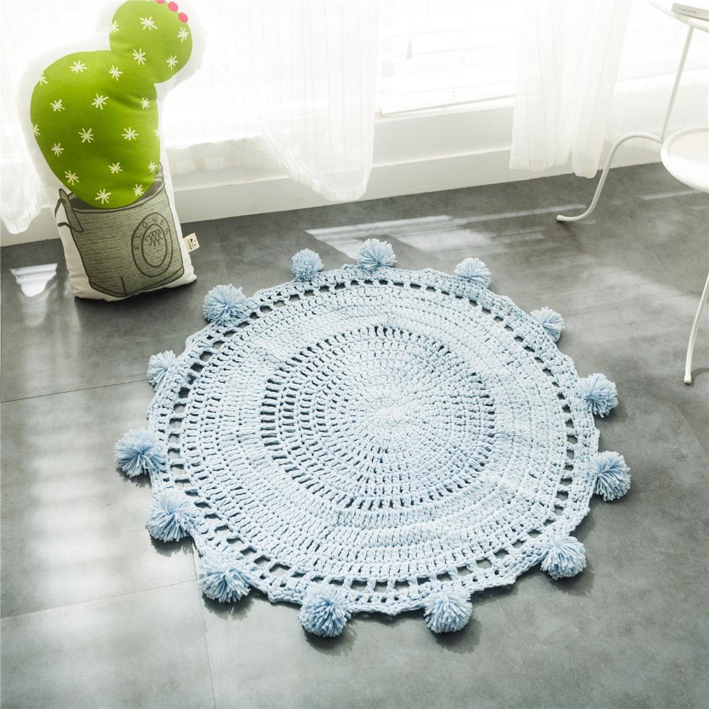 Вяжем круглые коврики