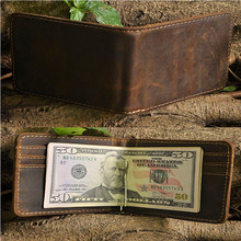 Fashion Money Clip Faux Leather ID Holder MetroCard Holder Credit Card Holder employee's card Holder  with Nacklace