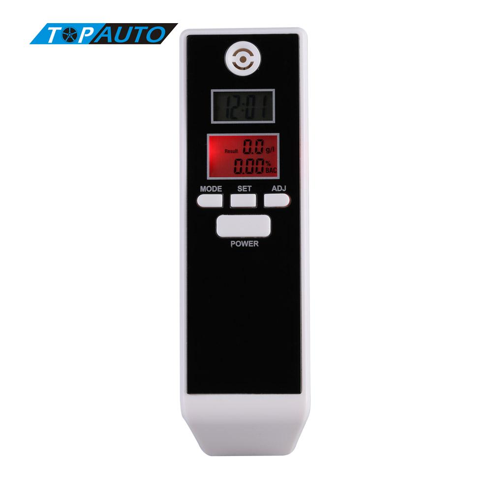 LCD Digital Breathalyzer Prefessional Breath Alcohol Tester Parking Detector Gadget with Backlight Driving Essentials PFT-661S(China (Mainland))