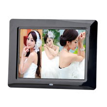 Electronic Digital Frame 8 Inch 800×600 High Resolution with Remote Control Alarm Clock Calendar Picture MP3 MP4 Movie Player