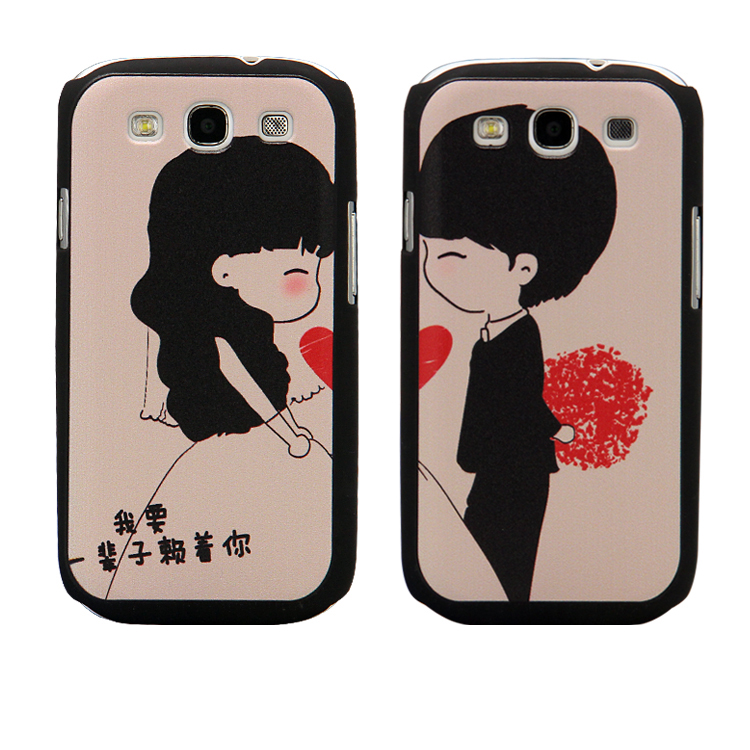 For samsung gt-19300 phone case protective case i9308 s3 lovers shell gt-19308(China (Mainland))