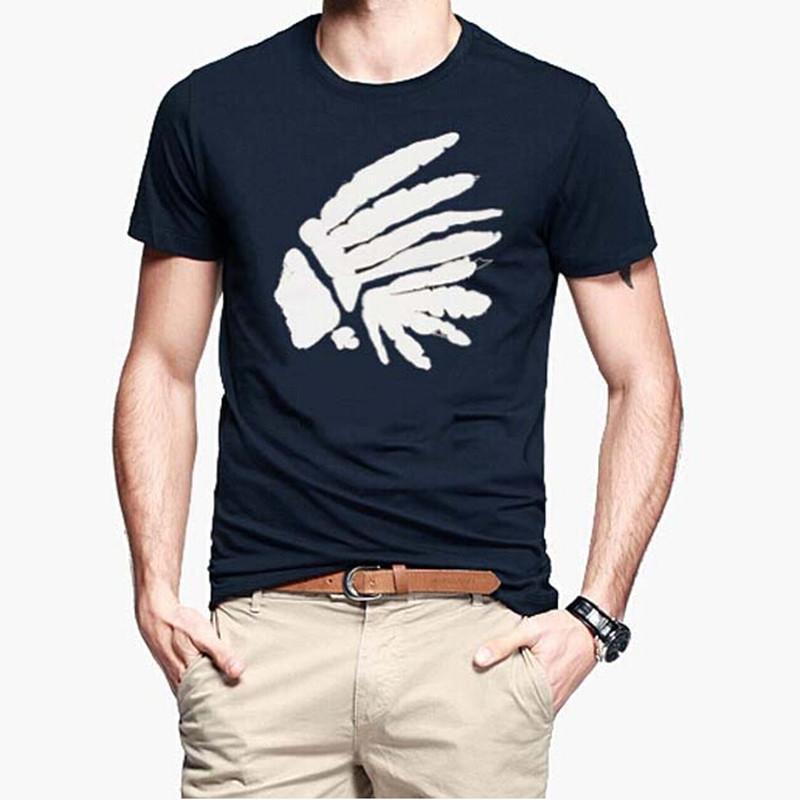 Short Sleeve 100 Cotton Slim T Shirt Casual Fashion T shirt Quality Famous Brand Design 2015