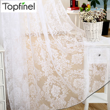 Top Finel Fashion Finished Window Screening Tulle Modern Sheer Curtains for Living Room the Bedroom Fabric for Curtain in Stock(China (Mainland))