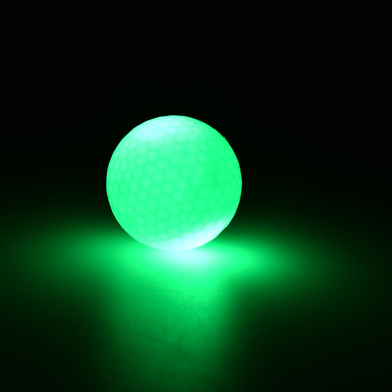 2016 New Day And Night Small Light Up Flashing Glowing LED Electronic Golf Balls Practicing Tools Golfing Accessories 1PC(China (Mainland))